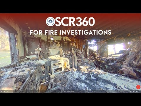 How does OSCR360 assist on fire and arson investigations?