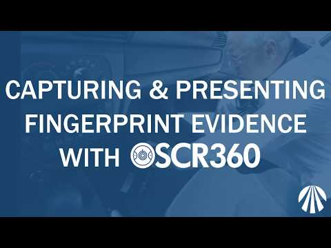 Capturing and Presenting Fingerprint Evidence with OSCR360