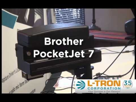 Features of the new Brother PocketJet 7