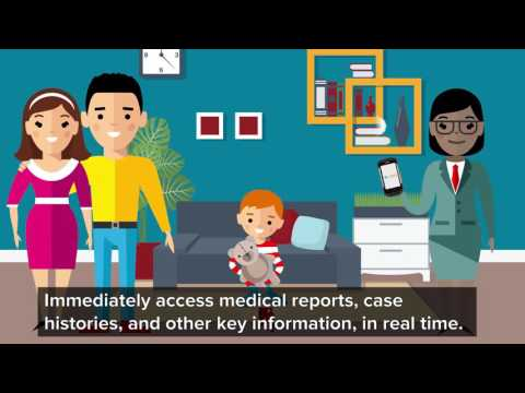 ChildFirst Solution: Eliminate Paperwork, Spend More Time With Families - Closed Caption
