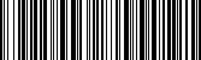 Linear Barcode.  Code 128 Symbology
