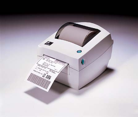 "Zebra LP2844 4"" Barcode Label Printer"