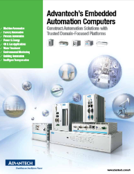Advantech Embedded Automation Computers: UNO Series