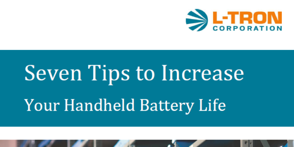 Seven Tips to Increase Your Handheld Battery Life