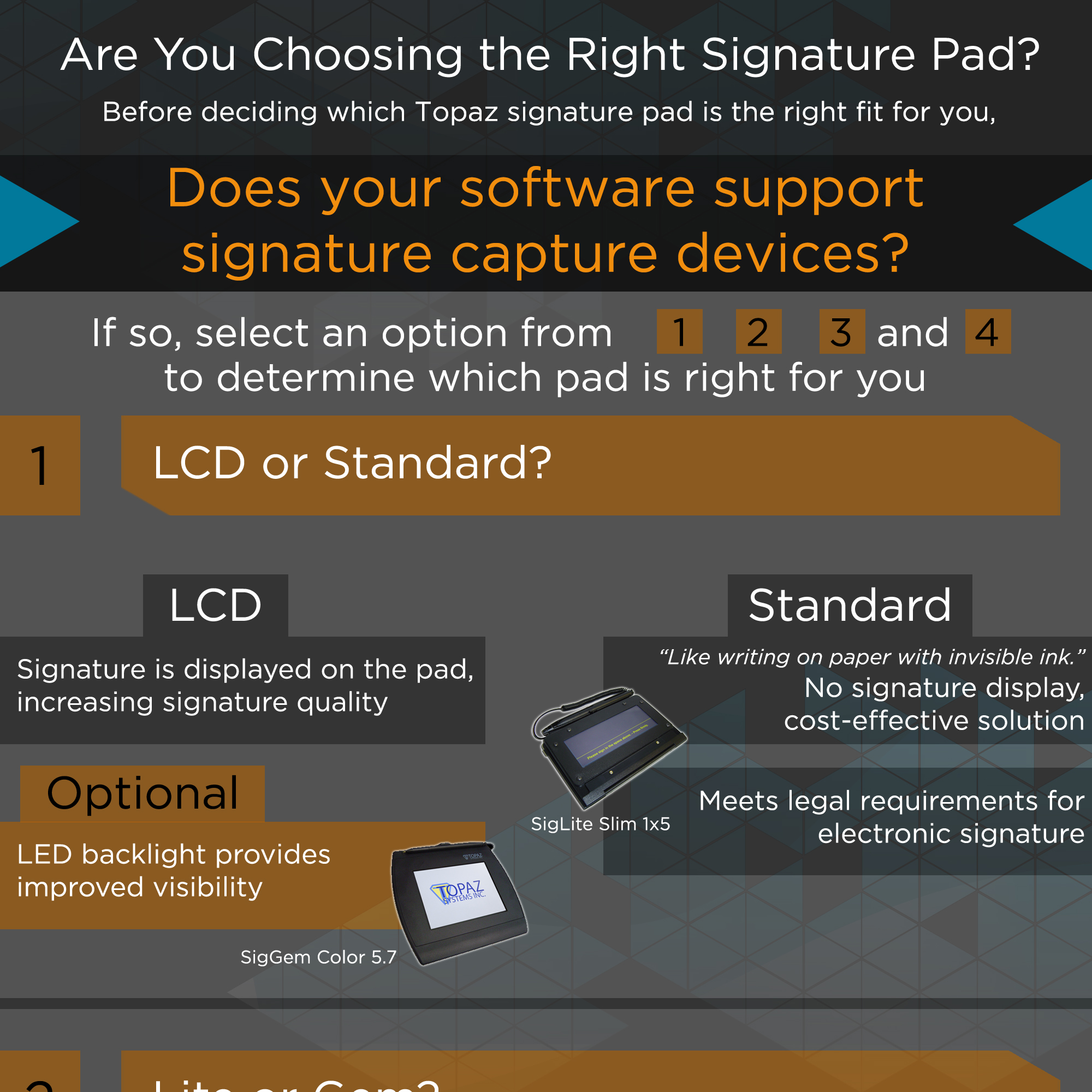 Are You Choosing the Right Topaz Signature Pad? | L-Tron