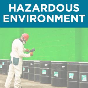 Hazardous Environment button