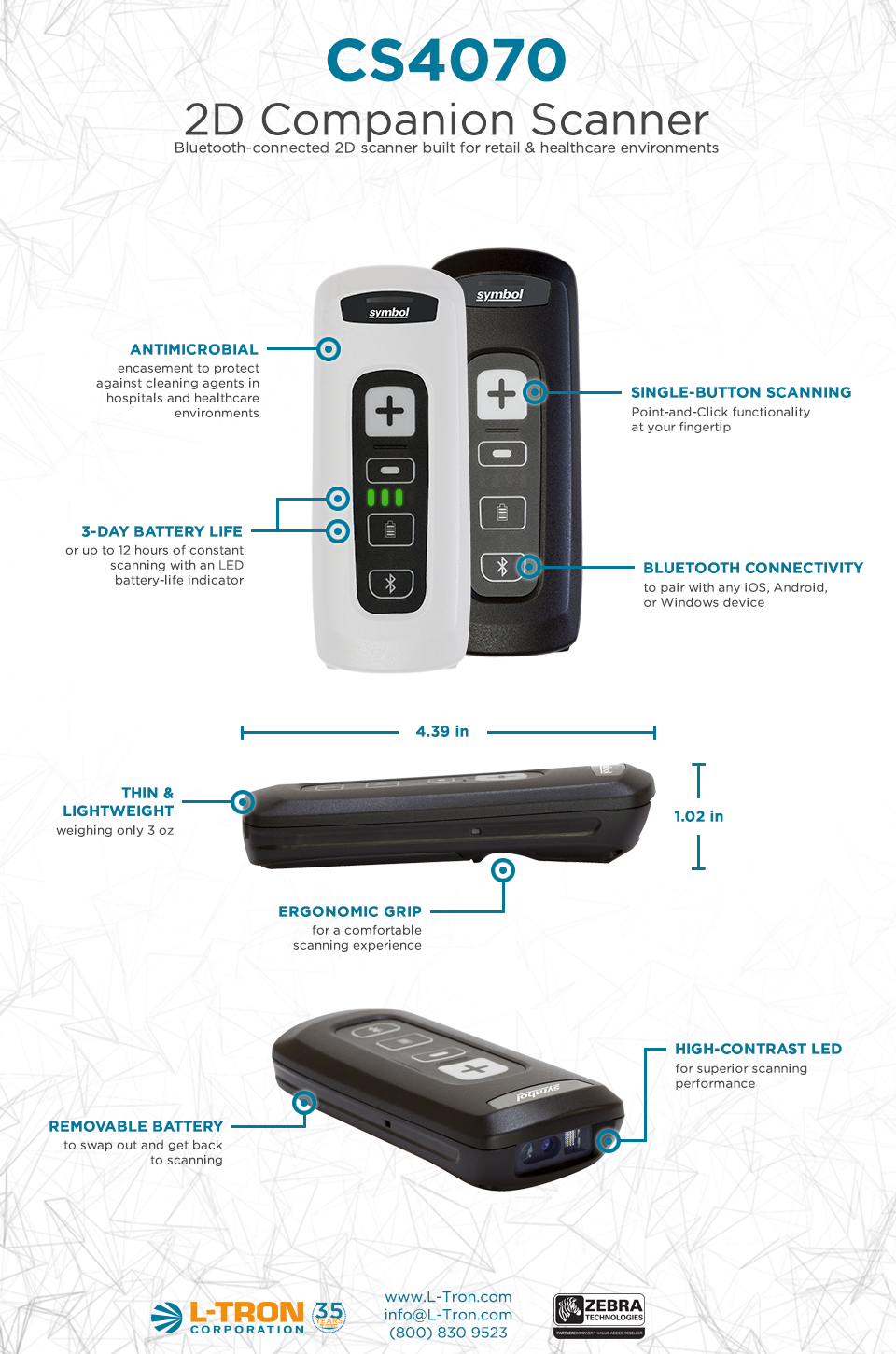 Cs4070 Companion Scanner Features Amp Benefits Infographic