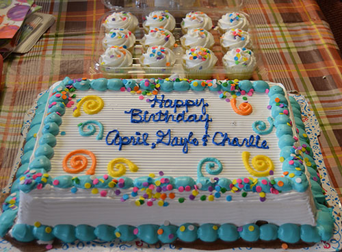 Company Culture Happy Birthday April Gayle and Charlie