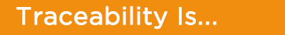 traceability is