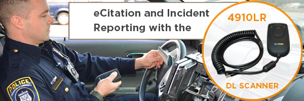 ecitation and incident reporting with the 4910LR