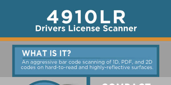 [Infographic]: 4910LR Drivers License Reader