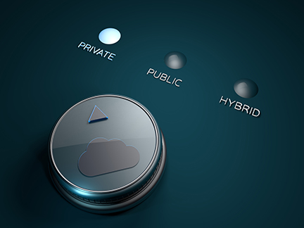 public private and hybrid cloud storage