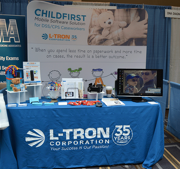 childfirst booth at nypwa