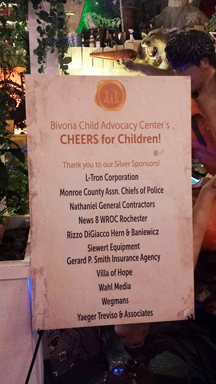 Bivona Cheers for Children silver sponsors