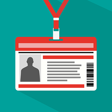 employee id badge
