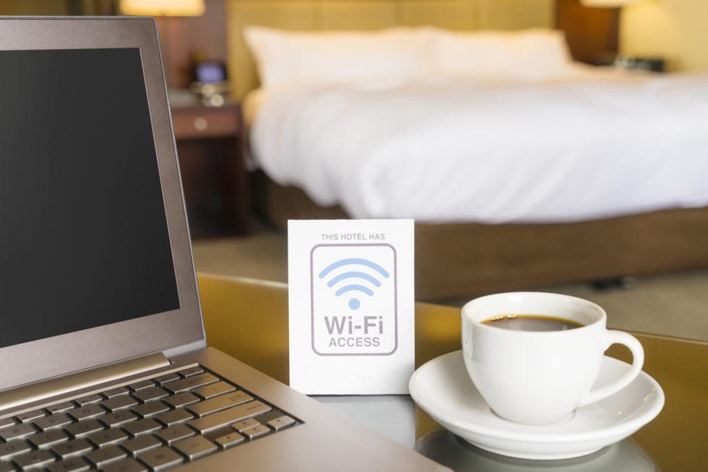 Hotel WiFi access