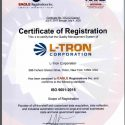 ISO/AS9100: 2015 Certification.