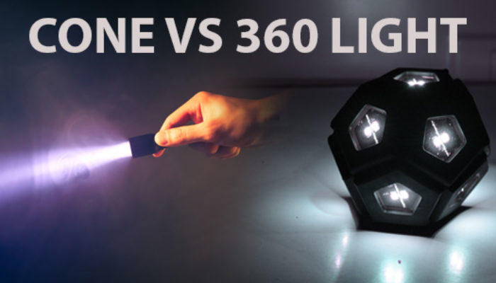 Why 360 Light Trumps Cone-Shaped Light in Hostile Environments