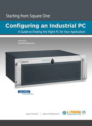 configuring an industrial pc