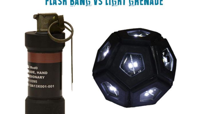 Light Grenade VS Flash Bang