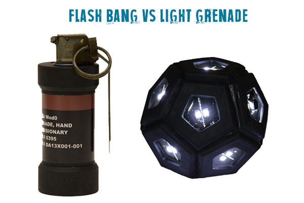 flash bang vs light grenade