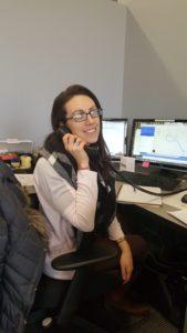 Juli on the phone
