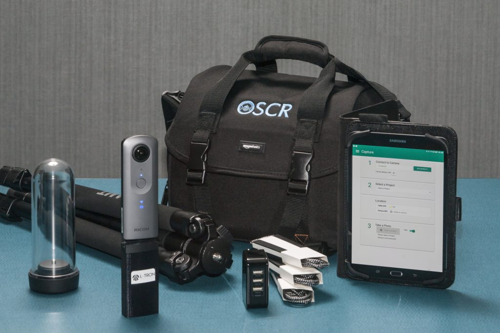 OSCR360 Capture Kit Components