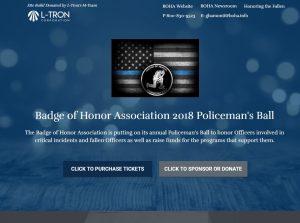 BOHA Police Officers Ball Website