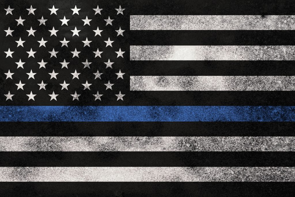 The thin blue line honored during Police Week 2018
