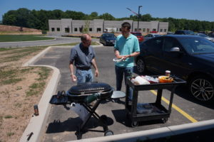 The grill team