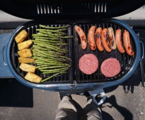 First day of summer grilling