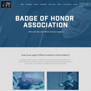 Badge of Honor Association Website