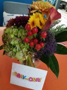 Gayle Birthday flowers