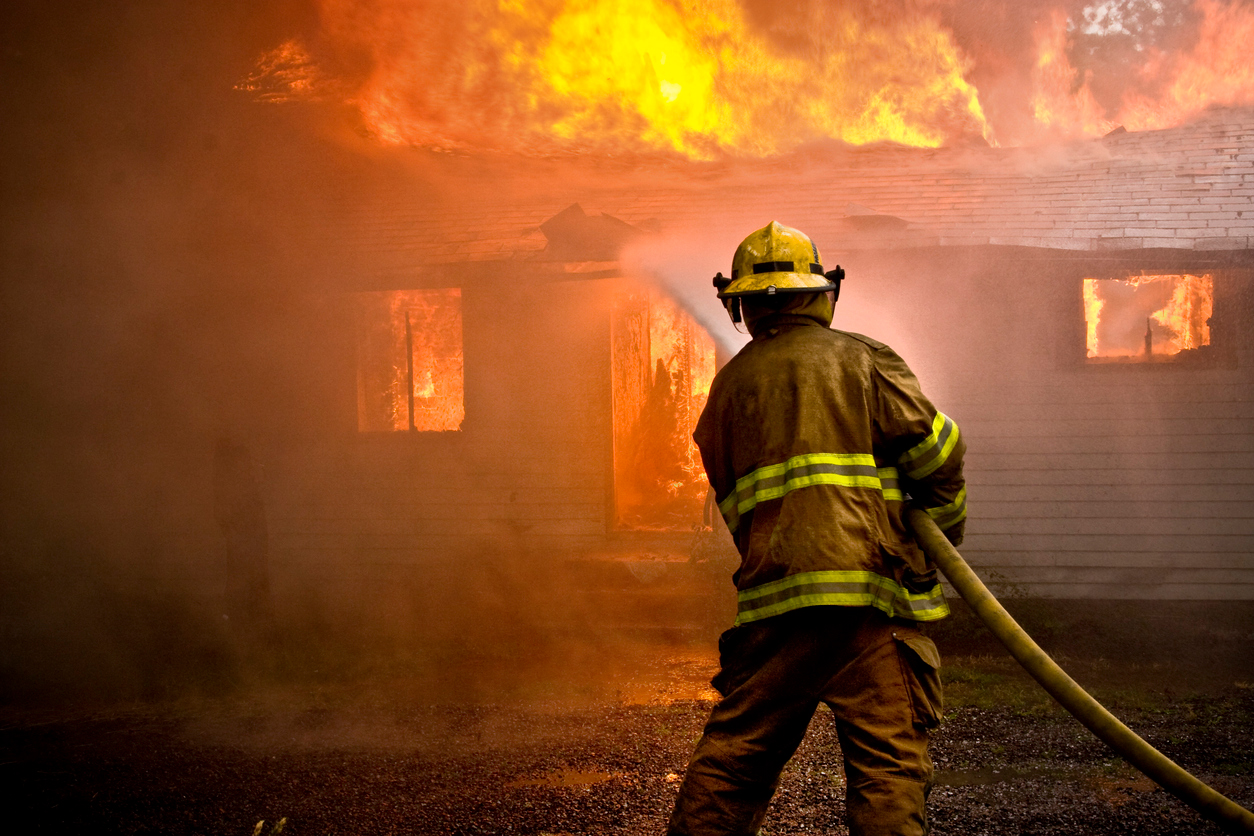 The role the firefighter plays at an arson investigation