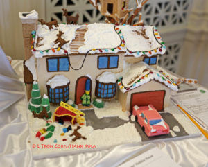 Simpsons Gingerbread House