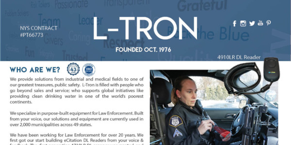 About L-Tron, Law Enforcement