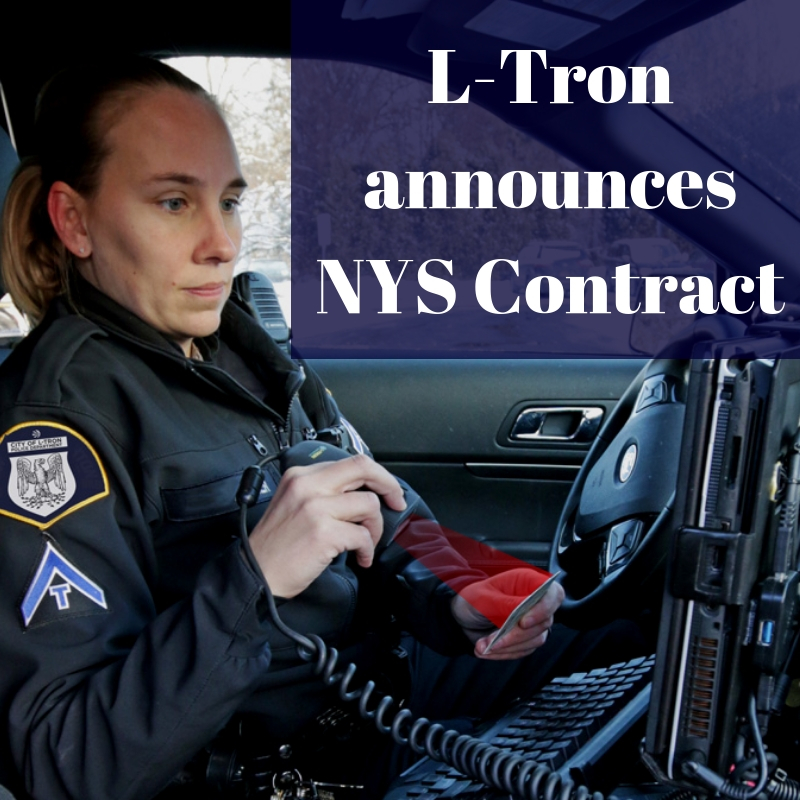 Press Release: L-Tron Secures NYS Contract for OSCR360 & 4910LR