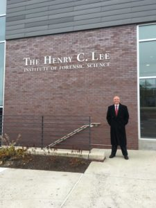 Andy at Dr. Henry Lee Institute