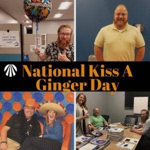National Kiss A Ginger Day