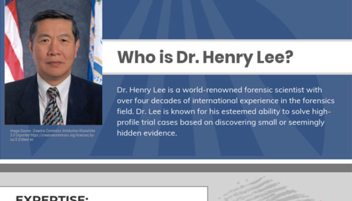 Who is Dr Henry Lee?