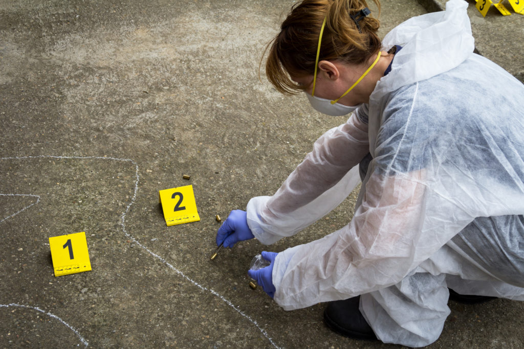How to document a crime scene - evidence collection