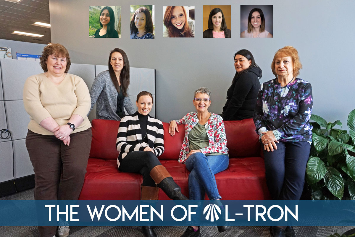 Women's History Month - the women of L-Tron