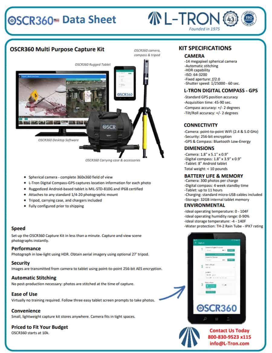 oscr360 datasheet