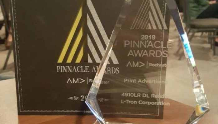 """Press Release: L-Tron's """"M-Team"""" Selected as Finalist for Multiple 2019 AMA Pinnacle Awards"""