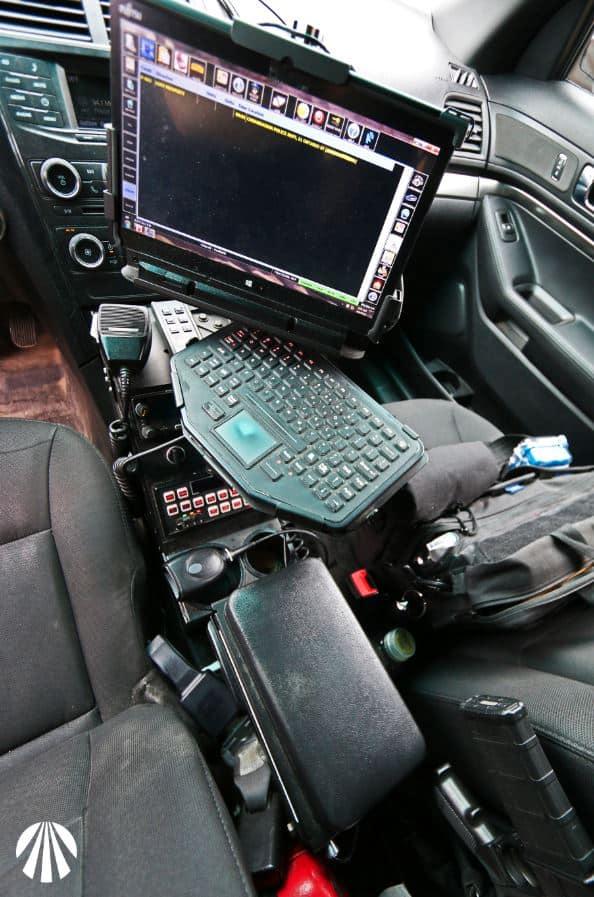 Police Officer Patrol Car Equipment