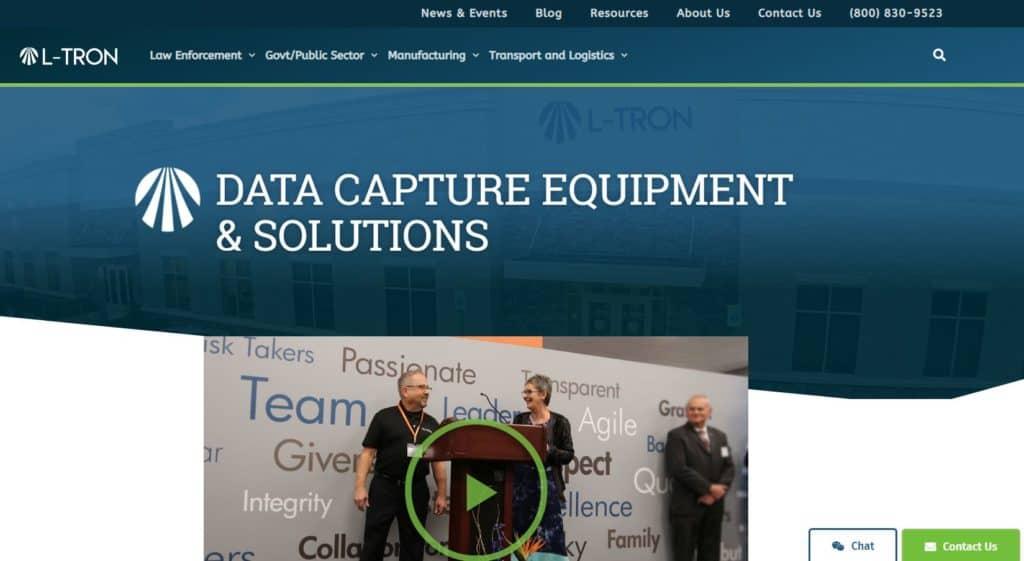 L-Tron Launches new site