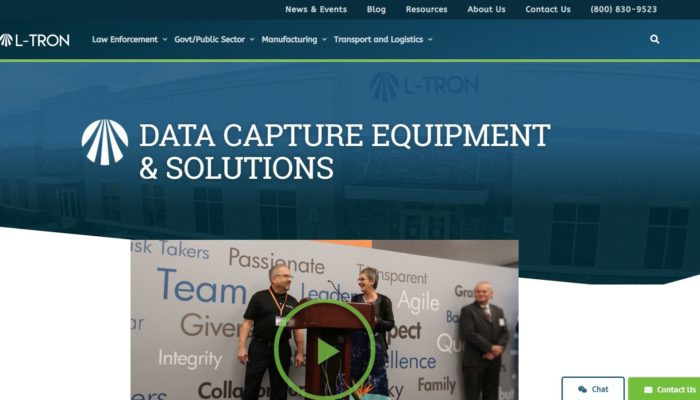 Press Release: L-Tron Launches New Website Geared Toward User Experience