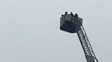 OSCR in a firetruck