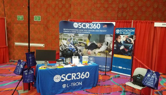 Press Release: L-Tron's OSCR360 team returns from International Law Enforcement Conference