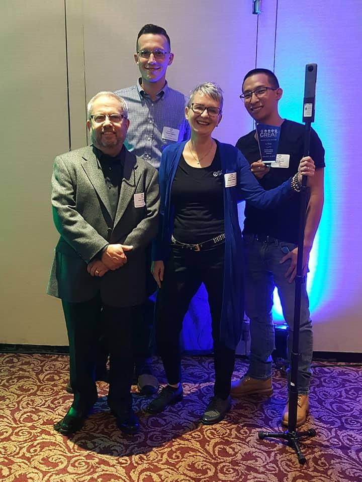 OSCR360 Awarded the Technology Innovation GREAT Award